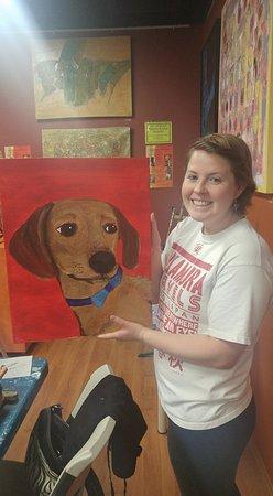 Gilbert, AZ: Paint Your Pet again