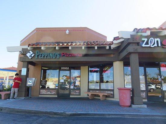 Peppino S Pizza: Peppino's Italian Family Restaurant, Aliso Viejo