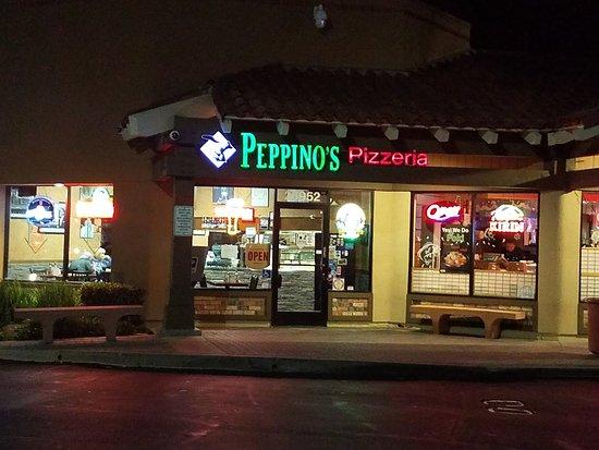 Peppino's Aliso Viejo at night