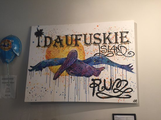 Daufuskie Island, SC: Love the logo!