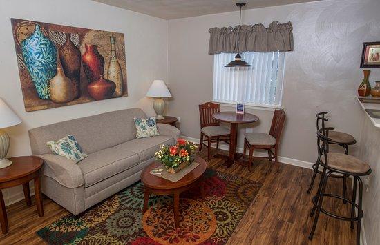 Waynesboro, فيرجينيا: Living Room