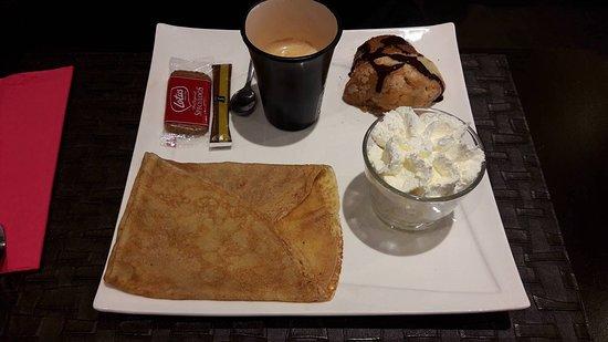 Sceaux, Francia: Café gourmand