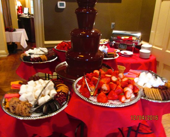 Brentwood, TN: Chocolate fountain