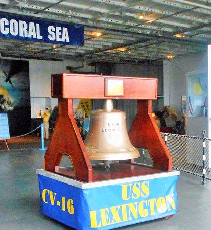 USS LEXINGTON: USS Lexingtpn Bell