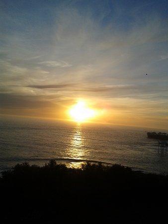 Saint-Palais-sur-Mer, فرنسا: coucher de soleil