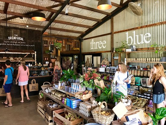 Ewingsdale, Australia: Three Blue Ducks Restaurant & Cafe