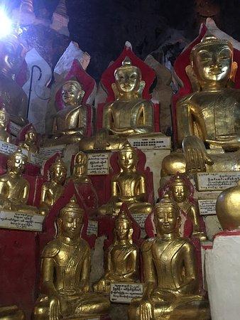 Pindaya, พม่า: Views and inside