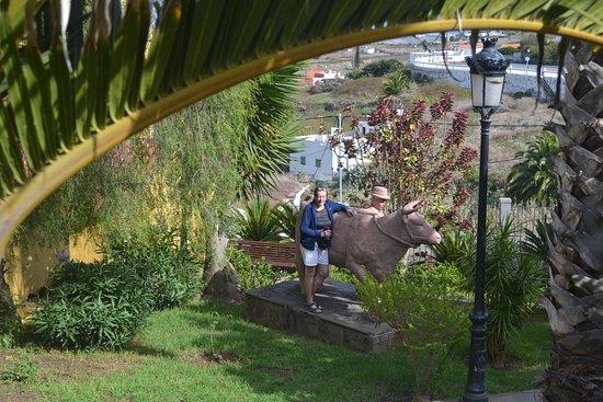 Firgas, España: me and a bull