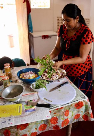 Kegalle, Sri Lanka: Wonderful cooking lesson!