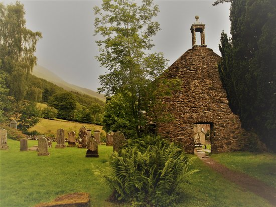 Balquhidder, UK: Ols church ruins