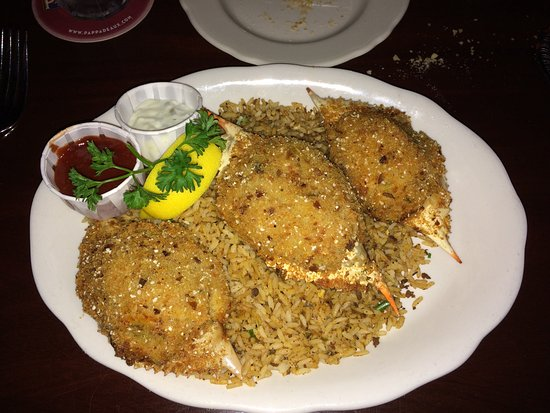 Some Cajun and tilapia combination - Picture of Pappadeaux Seafood ...