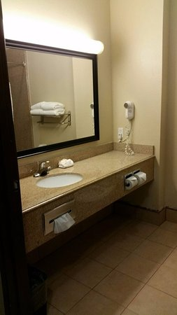 La Quinta Inn & Suites Houston/Clear Lake-NASA: Bathroom