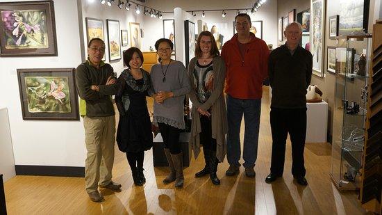 "Abbotsford, Canada : ""Fusion""  - Min Ma, Hong Zhu, Donna Zhang,  Kirsten Sheffield, Vance Theoret and Pieter Molenaar"