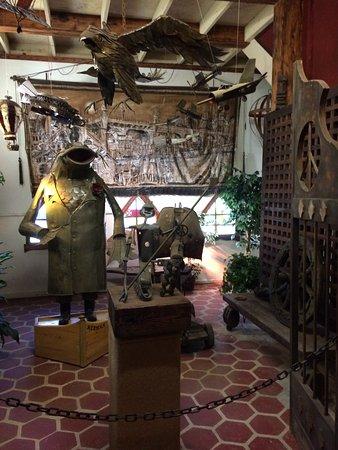 Ona, FL: Several of Mr Solomon's creations