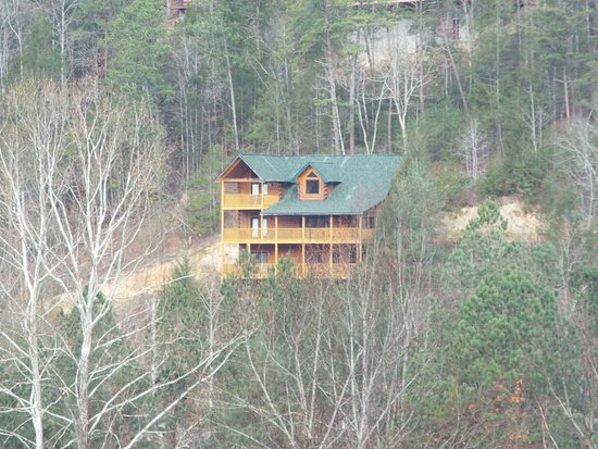 Cosby, TN : Most houses were spared