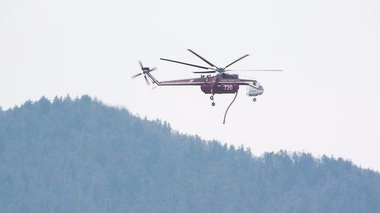 Cosby, TN : firefighting chopper
