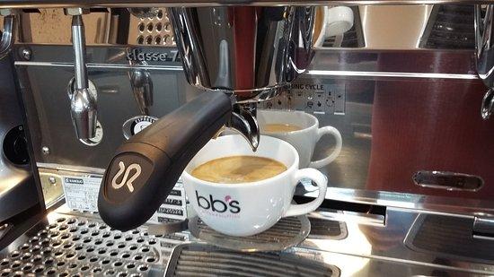 Banbridge, UK: BB's Coffee and Muffins