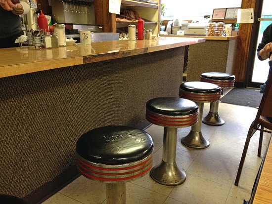 Tommys Cafe Love These Vintage Counter Stools