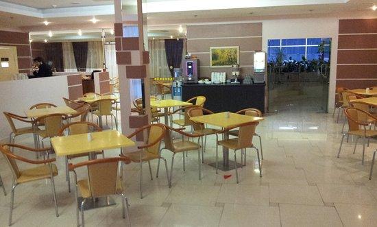 Yanino, Russia: Столовая, ресторан отеля