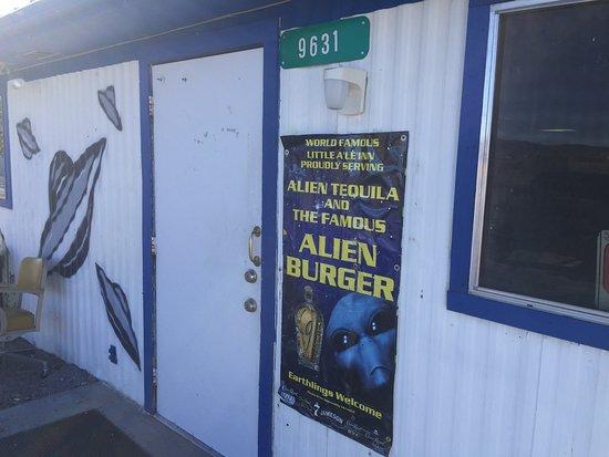 Alamo, NV: Entrance to restaurant.
