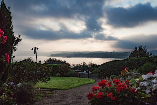 Ballycastle, UK: This is the view from the front door at Ardamagh Bed and Breakfast