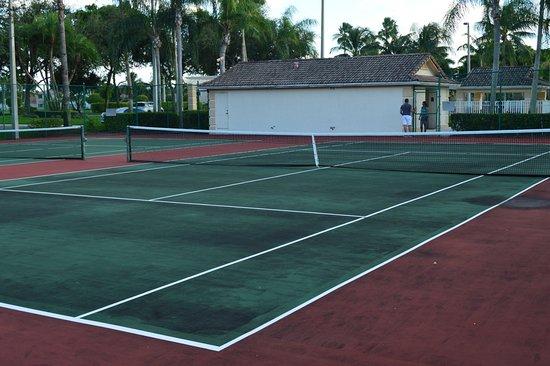 Miramar, Flórida: tenis court area
