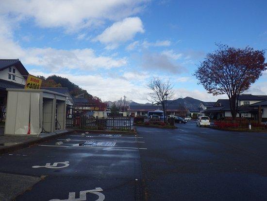 Nagawa-machi, Japan: 広い駐車場が有ります