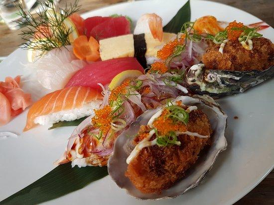 Balmain, Australien: sushi platter