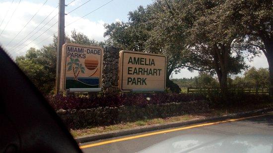 Sign park Picture of Amelia Earhart Park Hialeah TripAdvisor