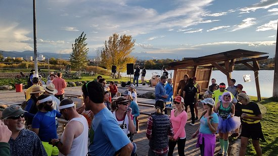 Bozeman, Montana: Corporate fundraising party at EGRA, August 2016. 