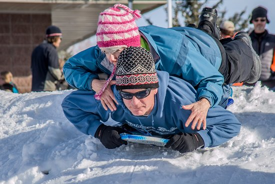 Bozeman, MT: EGRA offers terrific sledding hills for kids of all ages