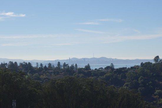 Berkeley, CA: Gorgeous view of San Francisco skyline from Wildcat Peak Trail