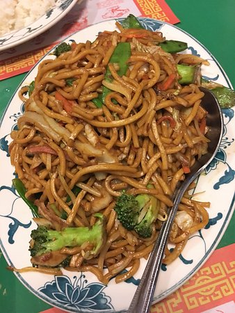 Fairfax, VA: Vegetable Lo Mein
