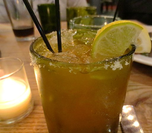 Pittsfield, MA: Blood orange margarita