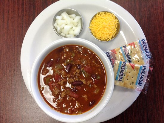 Midvale, UT: Home made chili on Mondays, delicious