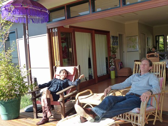 Woombye, Australia: Guest deck and breezeway