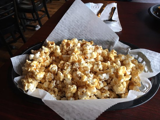 Lansdale, PA: Two Step Caramel Popcorn made with their Two Step Belgian Wit