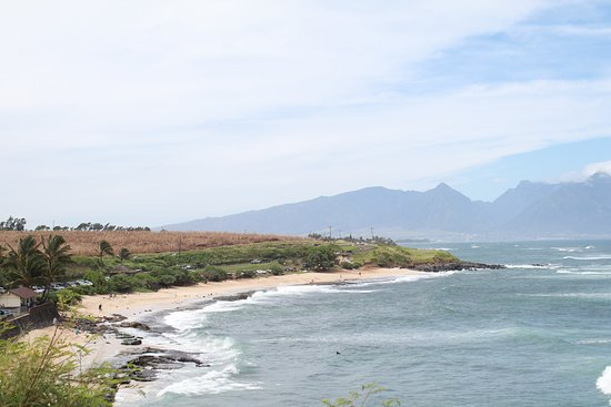 Paia, HI: Beach park