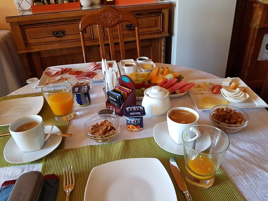 Hotel Boutique Acontraluz: Our breakfast