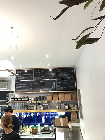 Photo of Restaurant Cafe Integral at 149 Elizabeth Street, New York City, NY 10012, United States