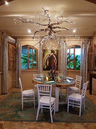 Ojochal, Costa Rica: private dining room