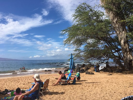 Ulua Beach : Shade to the Right ->
