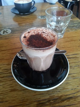 Mulgrave, Australia: Hot chocolate