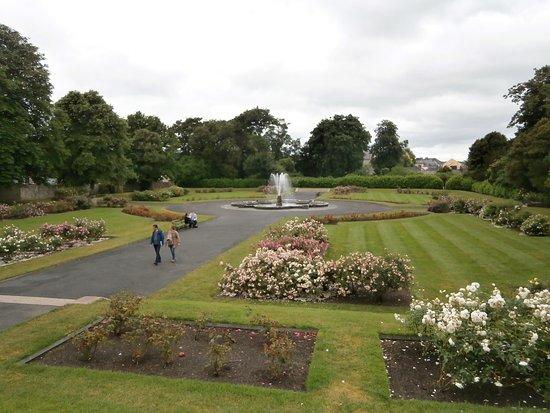 Kilkenny, Irland: 城の庭園