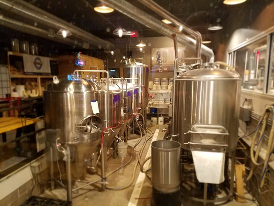 Salina, KS: Brewing area