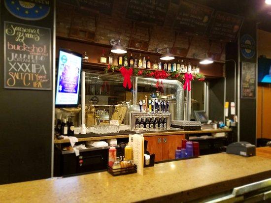 Salina, Κάνσας: Bar area