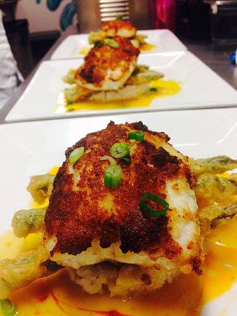 The hog fish picture of citrus seafood restaurant for Fish restaurant naples