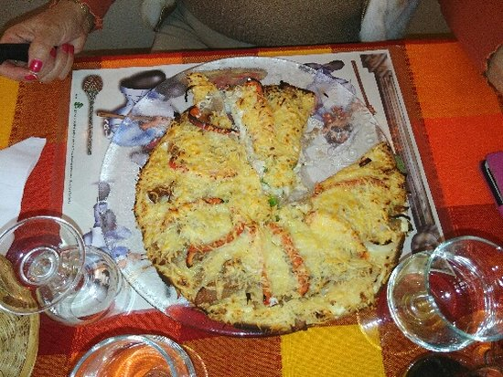 Le Beausset, Frankrig: pizza