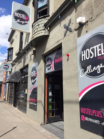 Collingwood, Australia: Hostel Plus exterior