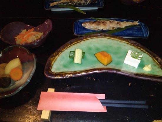Takamori-machi, اليابان: 夕食